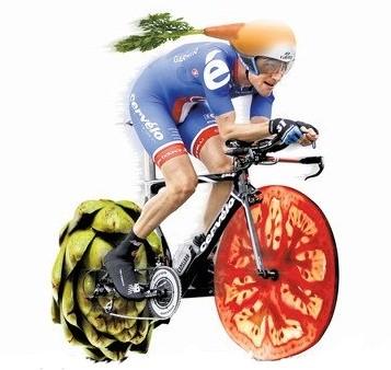 Vegetarianismul şi ciclismul pot fi compatibile ?