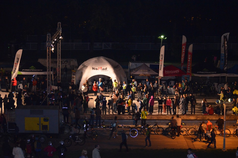 Finish MoonTimeBike 2014 (foto: Zamfir Daniel)